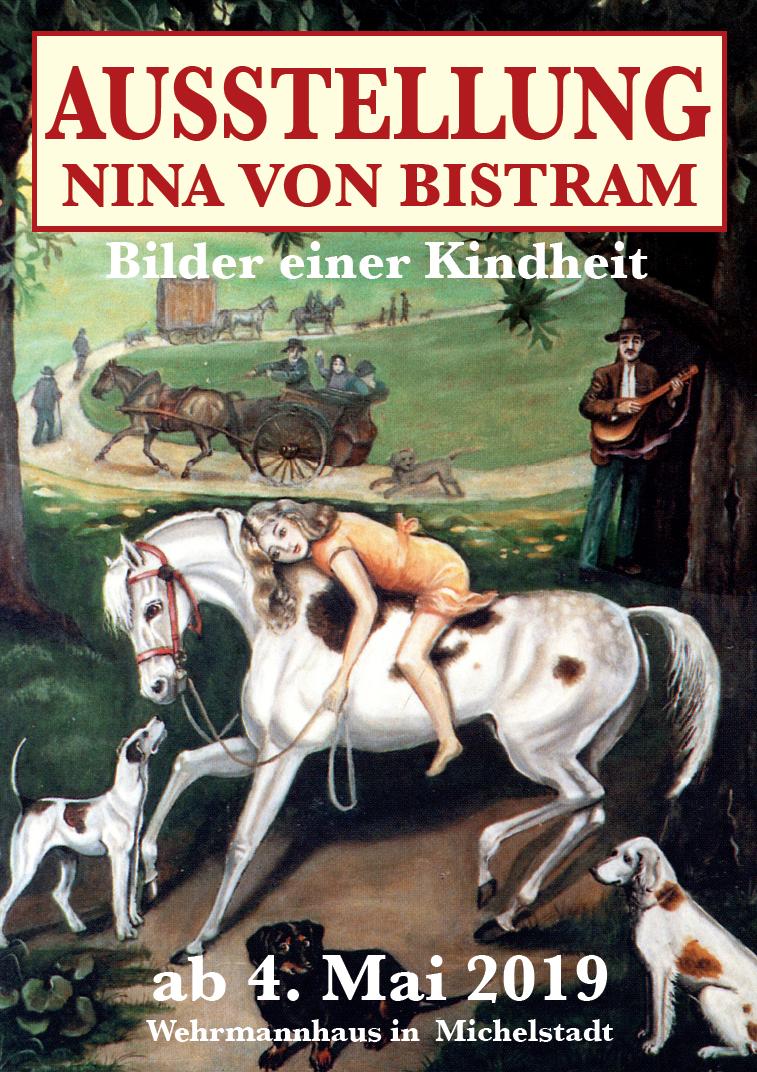 NINA VON BISTRAM; Bilder einer Kindheit.
